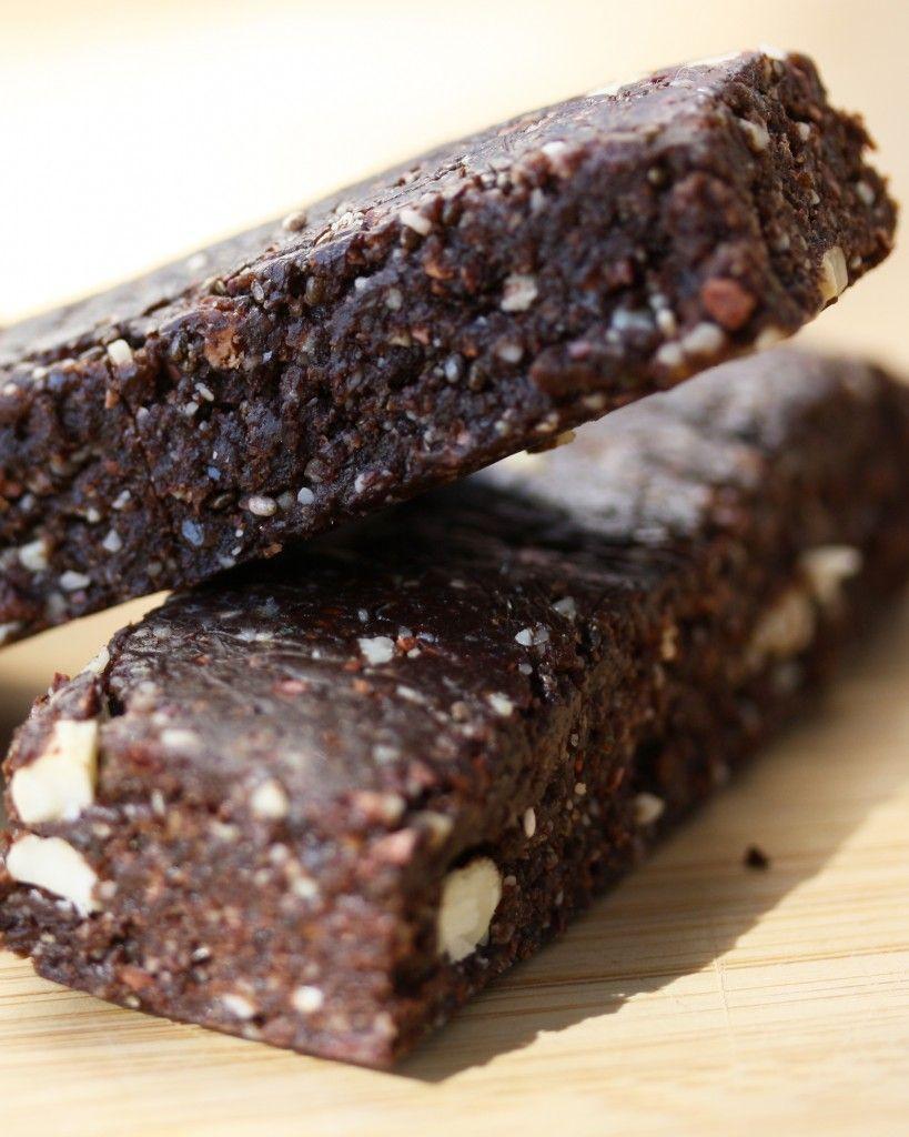 raw food bars recept