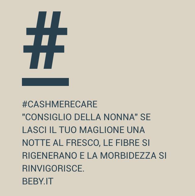 #cashmere #cashmerecare #consigli #maglificiobeby