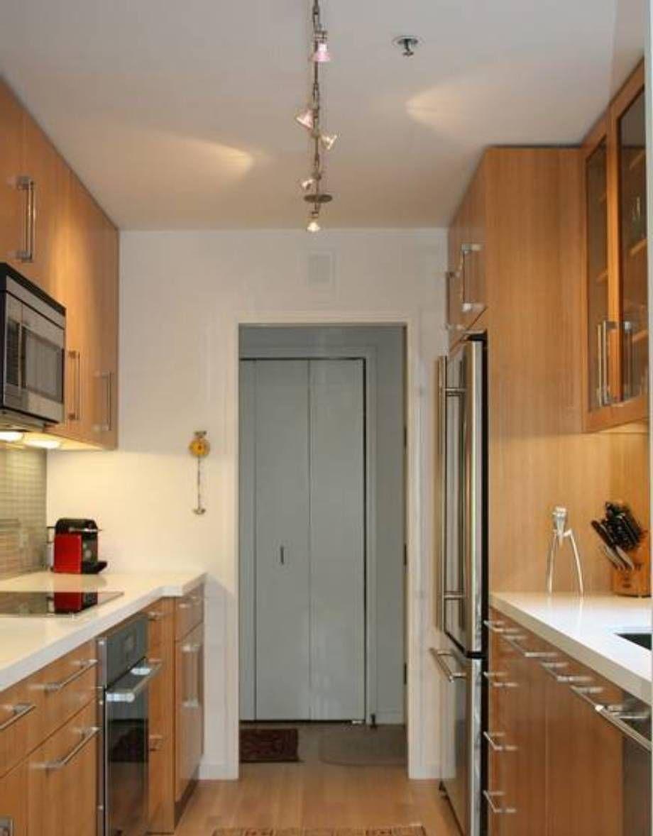 Kitchen Galley Kitchen Ideas In Lighting Modern Galley Kitchen