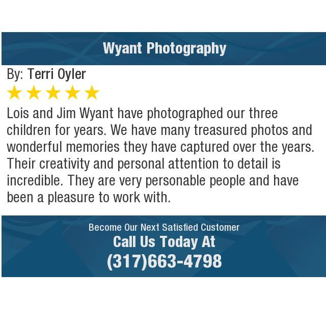 Lois And Jim Wyant Have Photographed Our Three Children For Years