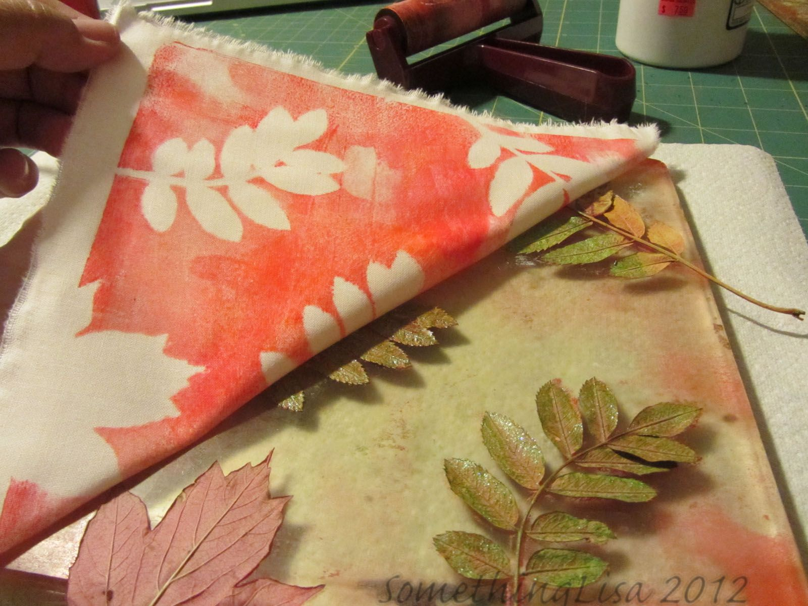 Something about nothing gelli plate tutorial with leaves gelli something about nothing gelli plate tutorial with leaves gelli prints pinterest leaves tutorials and gelli printing baditri Gallery