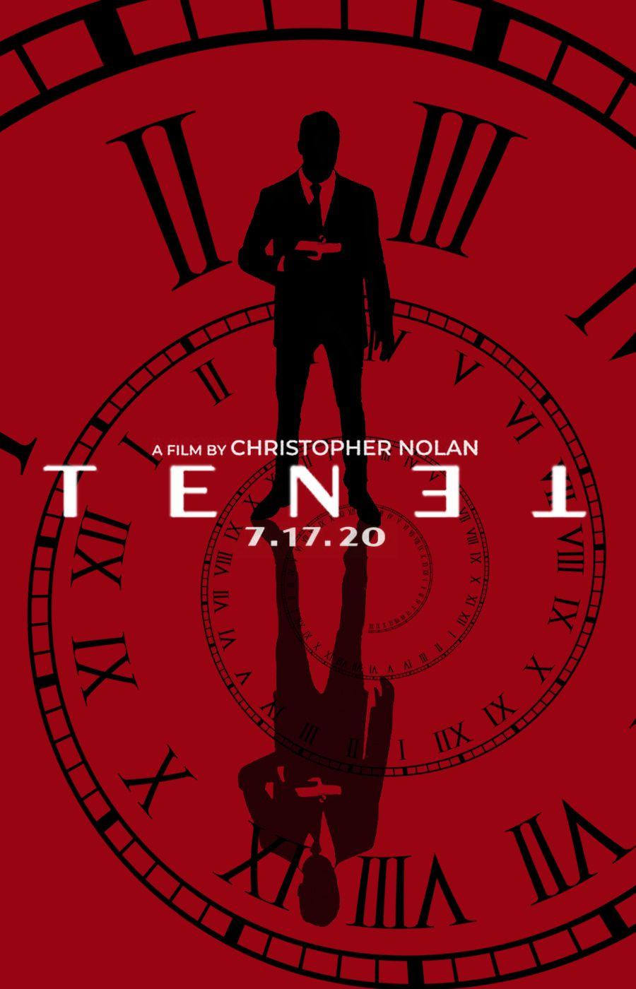 Tenet movie poster by DComp on DeviantArt