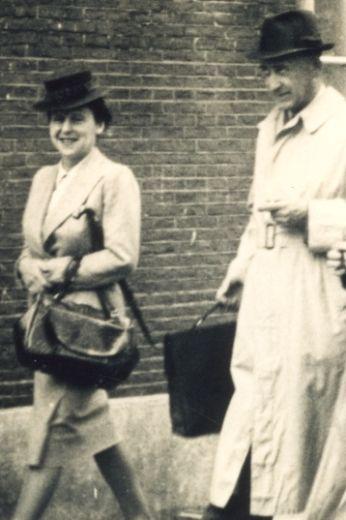 Hermann And Auguste Van Pels Van Dann All About Anne