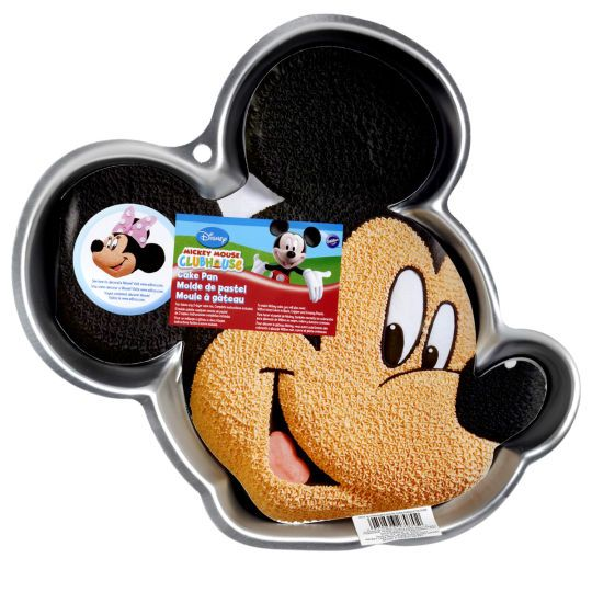 How excited will everyone be to see that Mickey Mouse has joined the party. Baking a Mickey...