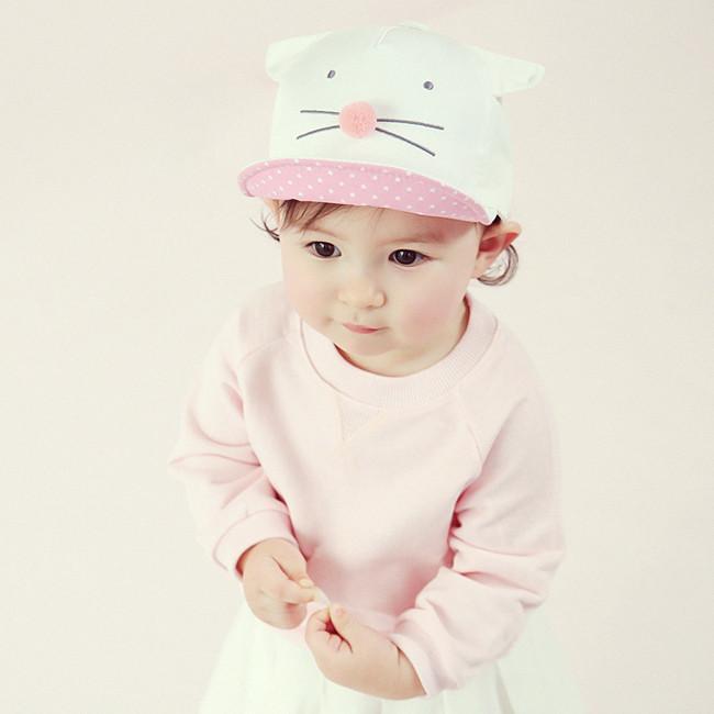 Charlot Barbie Cat Hat Baby Boy Outfits Kids Baseball Caps Kids Fashion