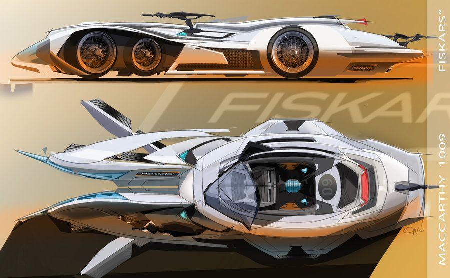 Fiskars Racing Car by digitalboystudios   Vehicle Design   Pinterest ...