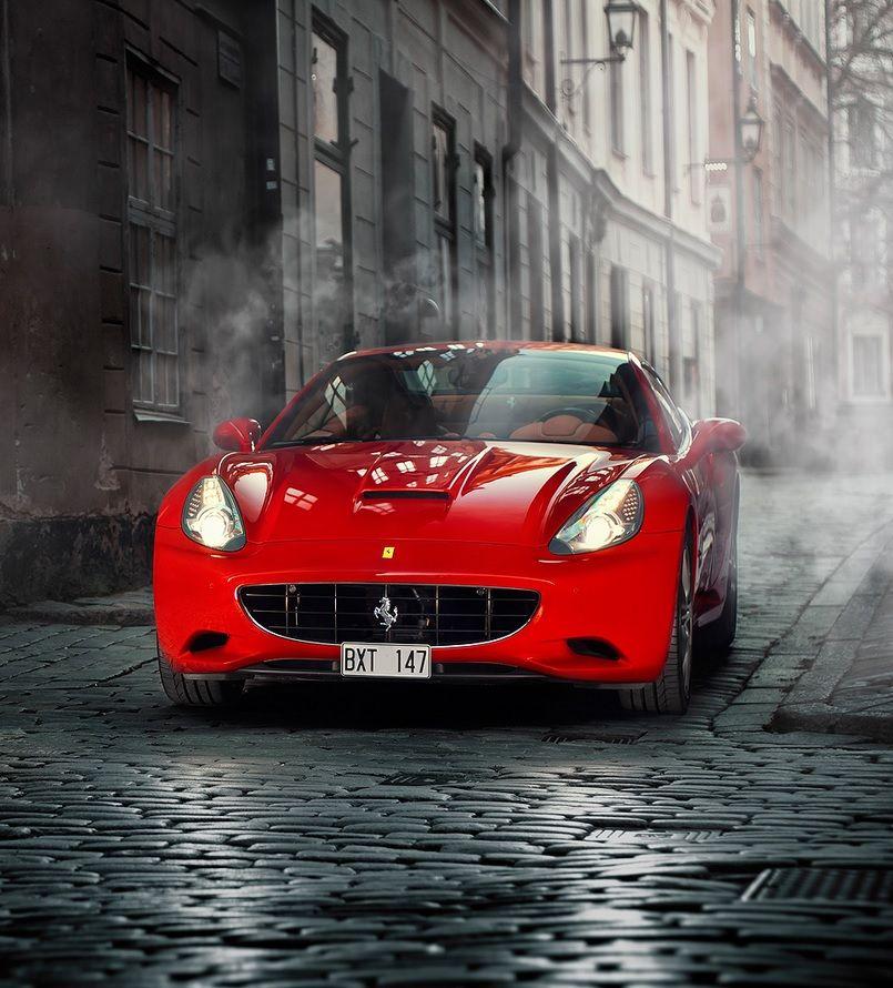 Ferrari Car Wallpaper: Ferrari California Superbly Captured By Dejan Sokolovski