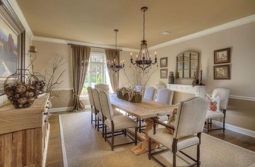 25 Formal Dining Room Ideas (Design Photos) - Designing ...