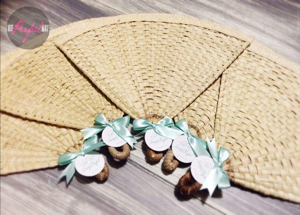 Mexican handmade leaf palm wedding fan by theperfectgift - Abanicos pintados a mano originales ...