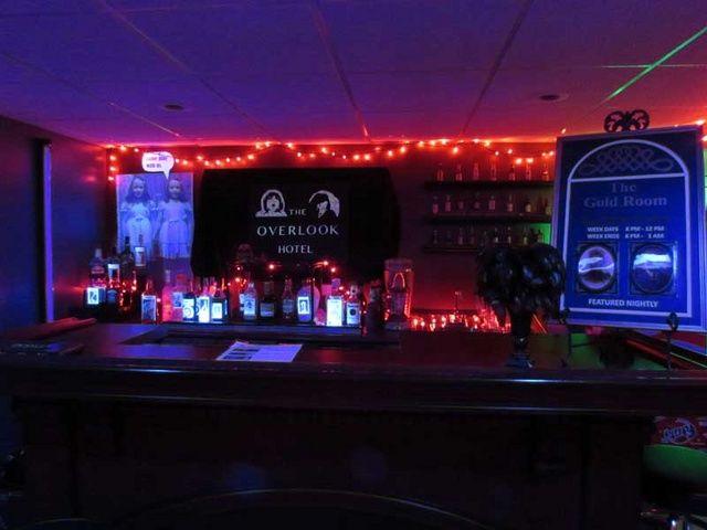 Awesome Overlook Hotel bar on Halloween Forum | Halloween ...