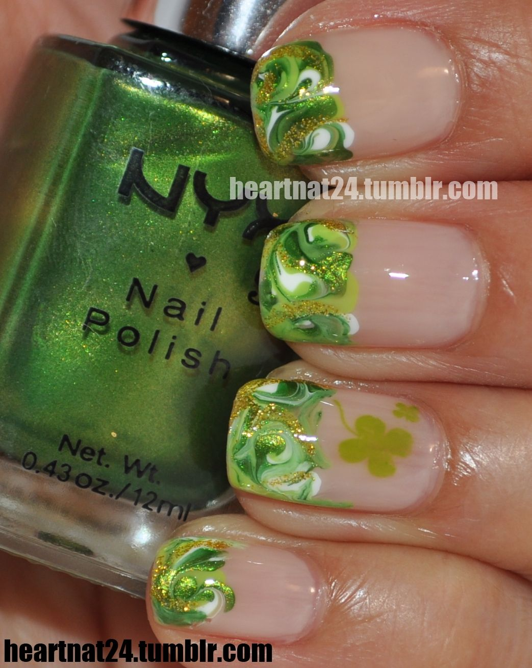 Pinned by www.SimpleNailArtTips.com ST PATRICK\'S DAY NAIL ART ...