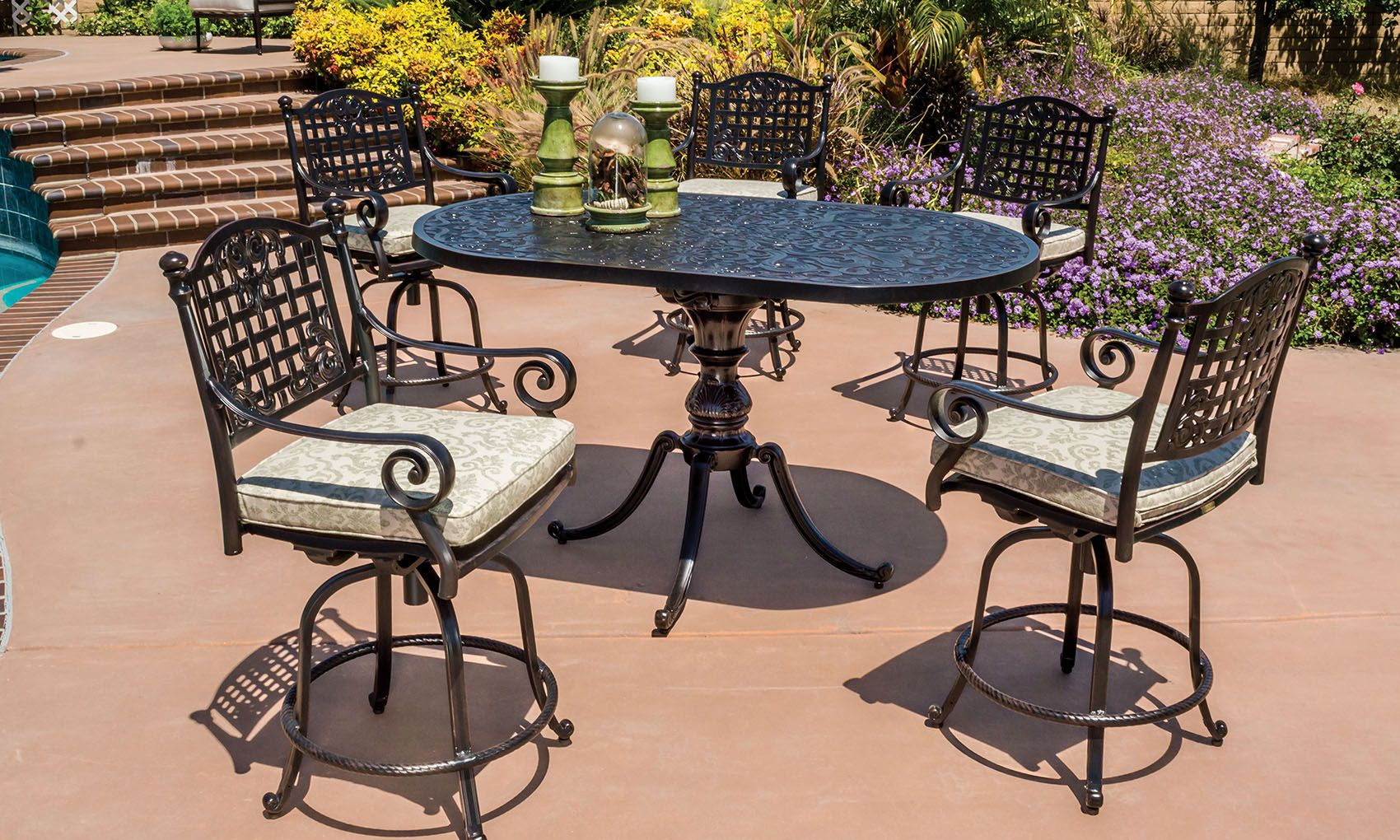 Three Gorgeous Outdoor Furniture Collections To Mix And Match  # Muebles Junco Santo Domingo