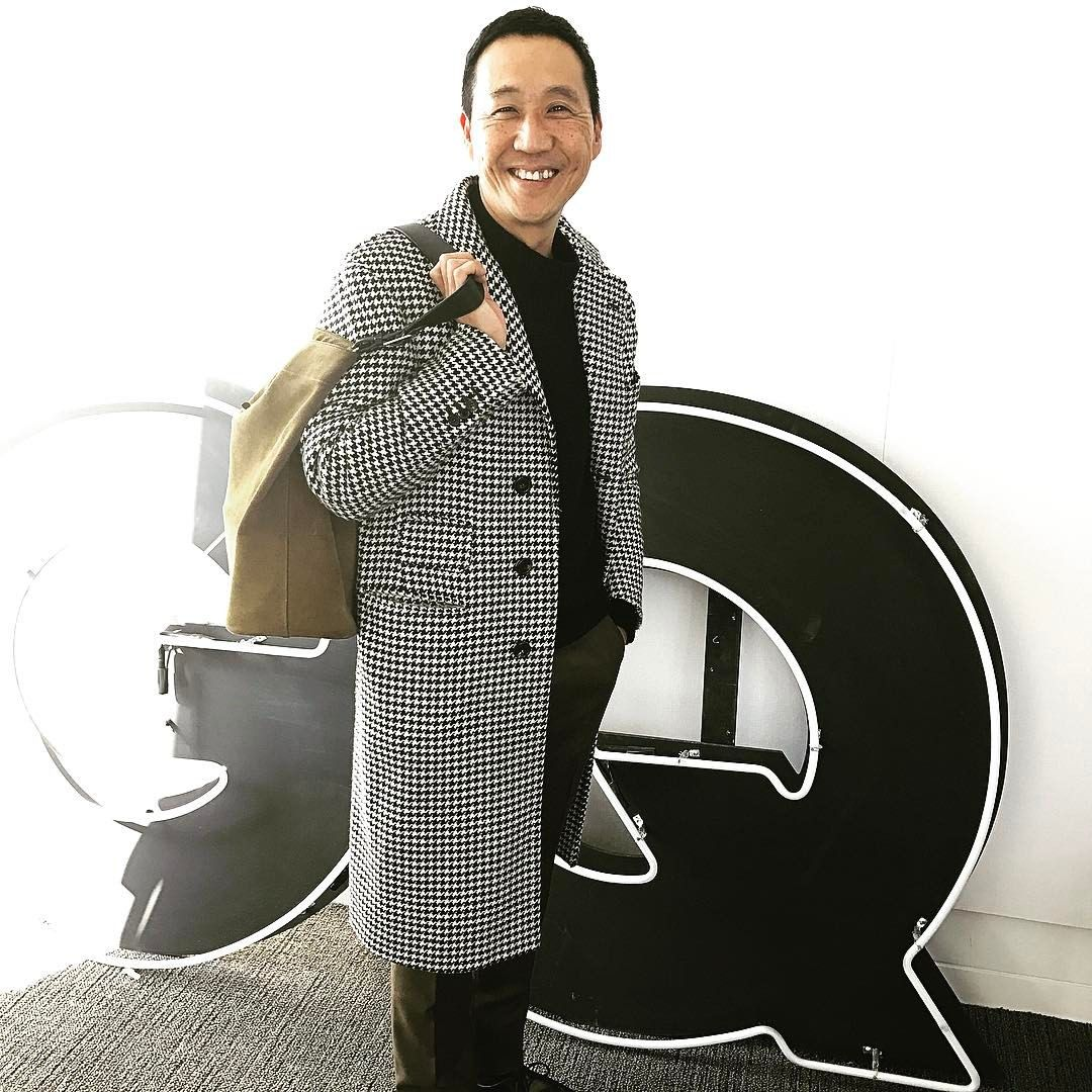 "Jim Moore (@jimmooregq) on Instagram: ""The chicest man in all of Japan came to visit us today. Mr Camoshita, you are such a huge style…"""
