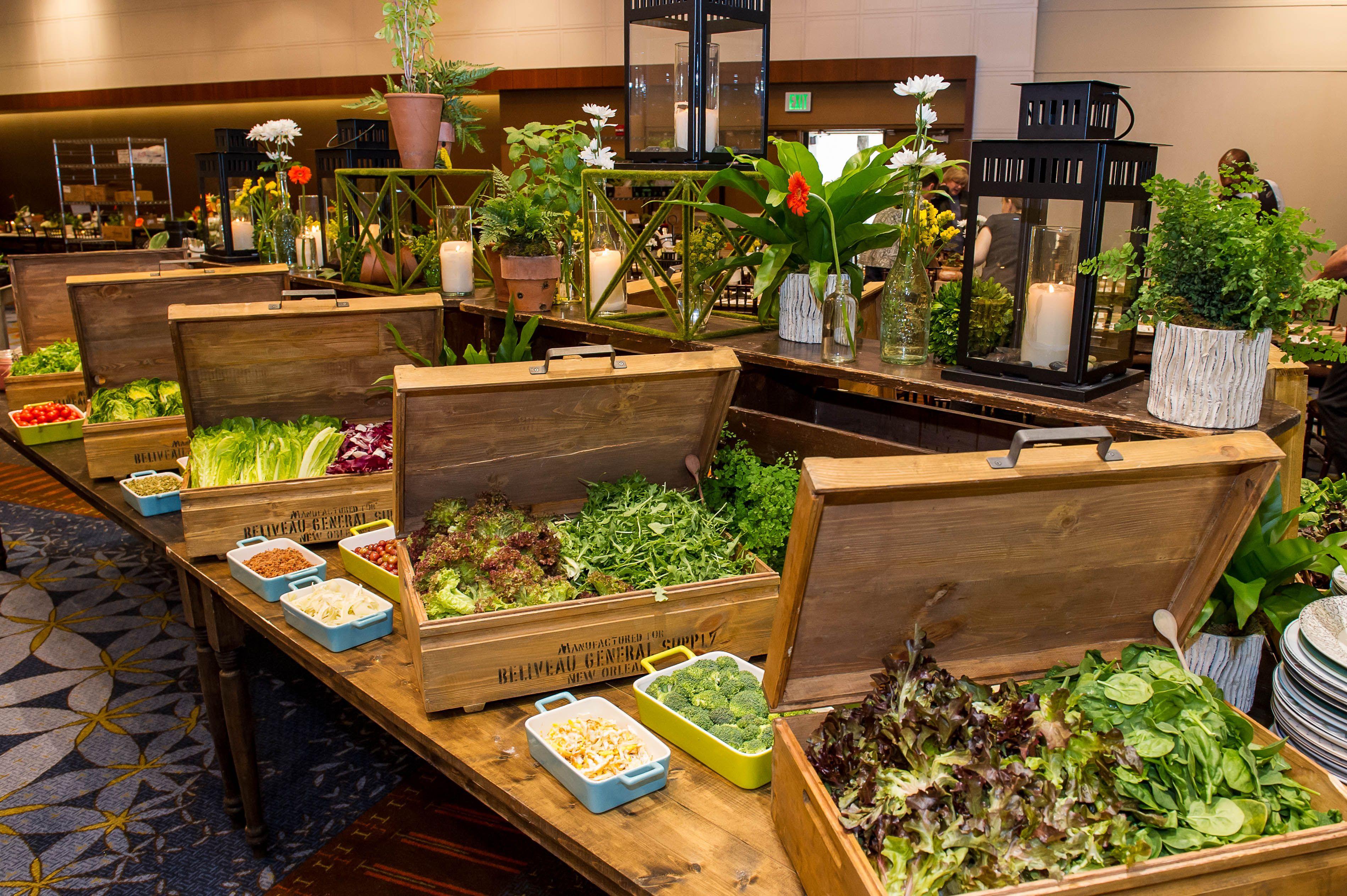 Salad Buffet At Hyatt Regency Atlanta Eat
