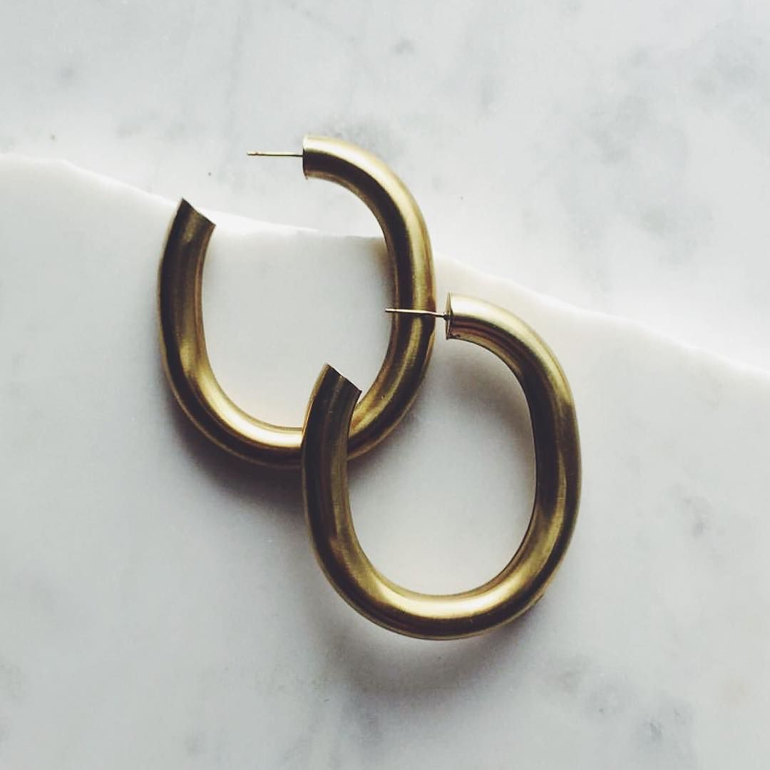 8efe63bf3 Classssic Curve earrings by Laura Lombardi available at LocalEclectic.com  by localeclectic