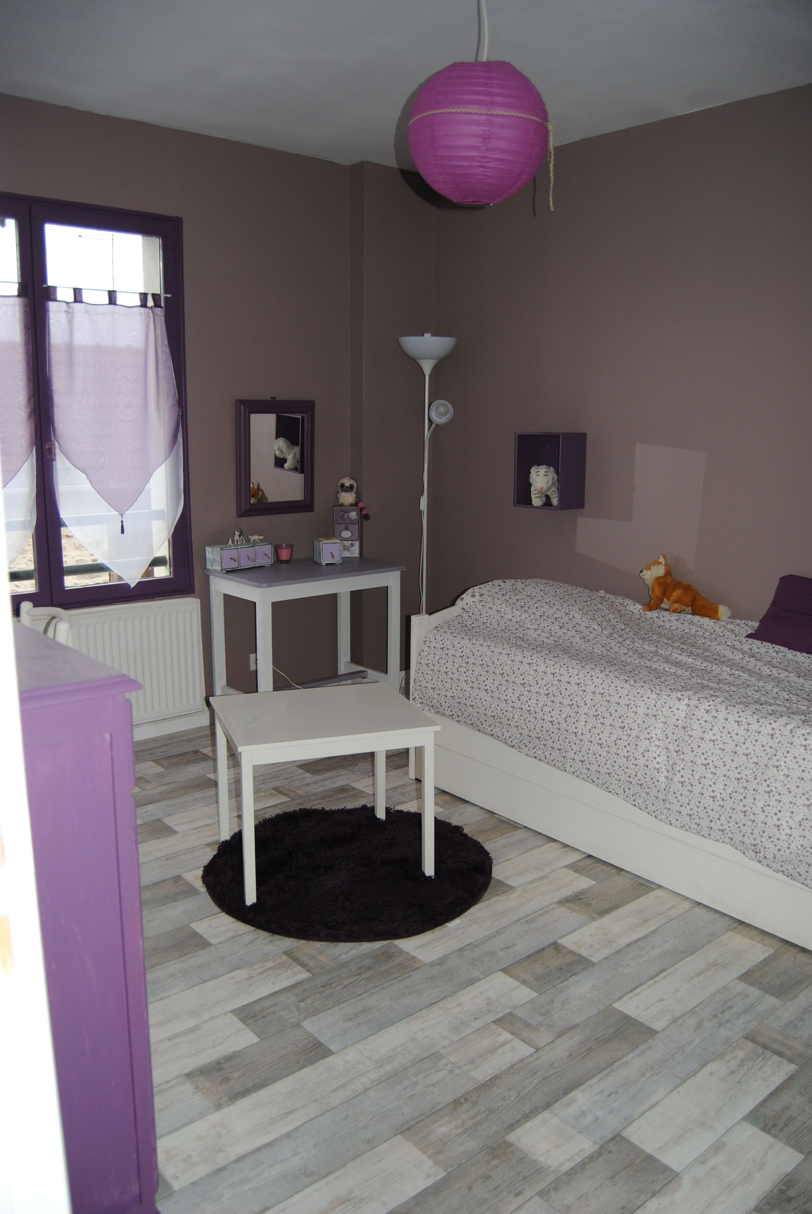 chambre taupe et violet   Deco chambre, Chambre mauve, Deco chambre fille