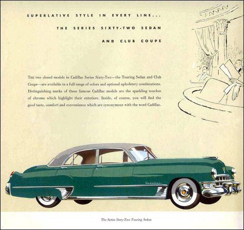 Cadillac 1949 - 62 Touring Sedan