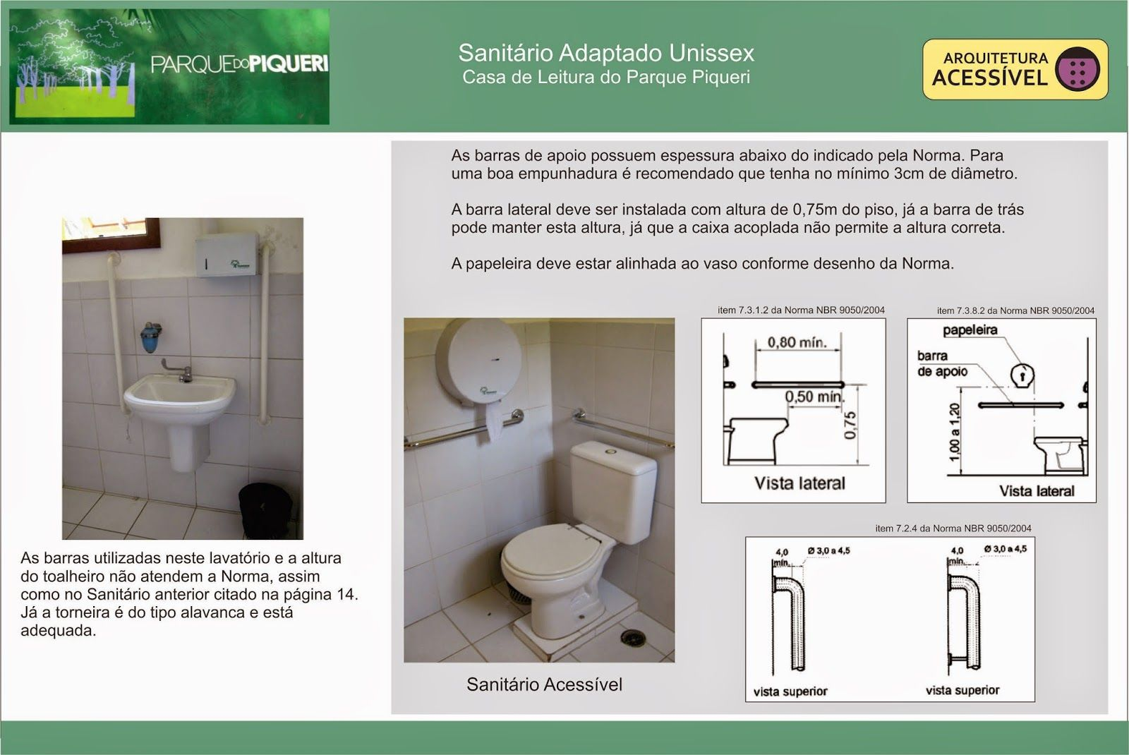 Brado Acessibilidade E Inclusao Arquitetura Acessivel Sanitario