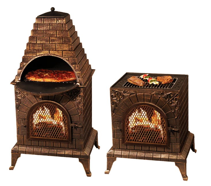 1 Pizza Oven Grill Combo Available On