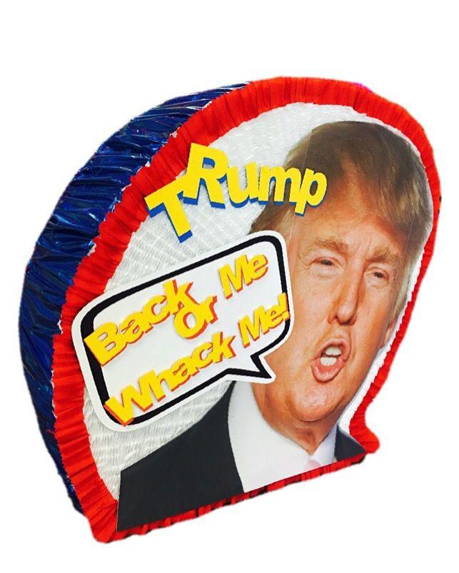 Custom handmade Donald Trump Face Pinatas / Casa Pinatas Party Store