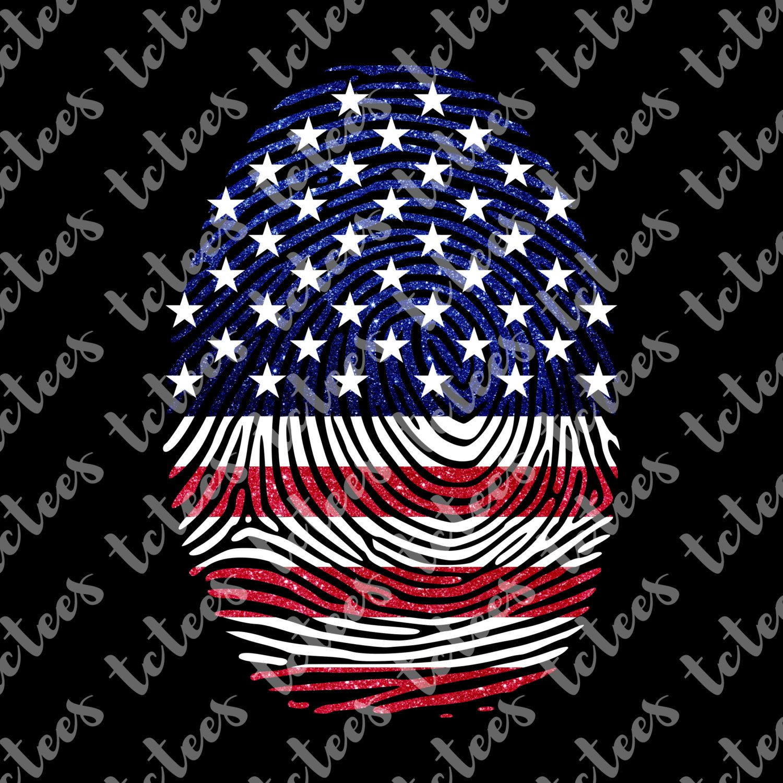 Shirt design usa - It S In My Dna Usa Fingerprint Patriotic Svg 4th Of July Shirt Design