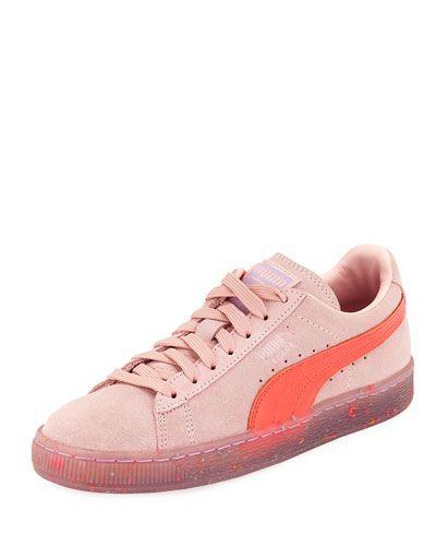 puma schuhe basket rosa