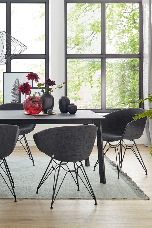 Laminat auf dem Tisch statt auf dem Boden mit Global Talavera