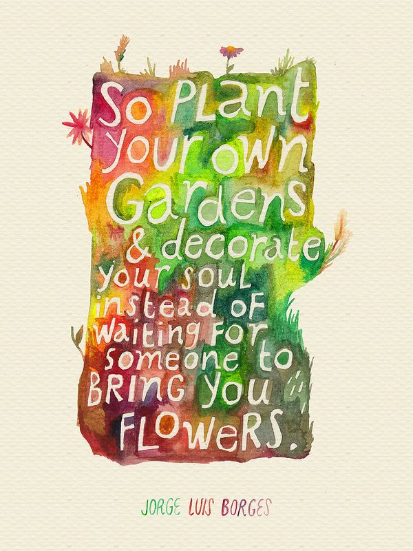 Plante seu próprio jardim