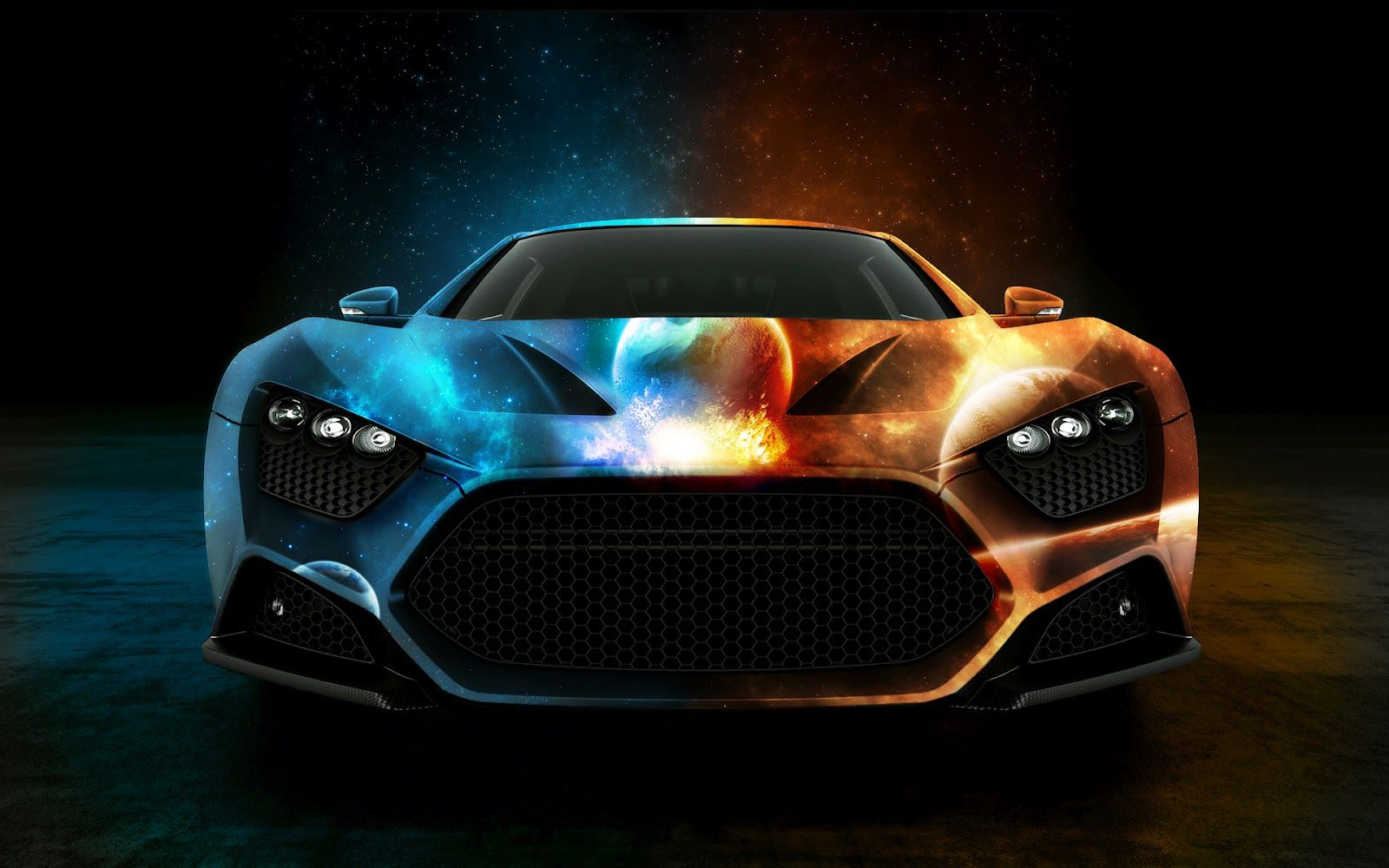 Ford Supercharged GT Australian Muscle Car Wallpaper For