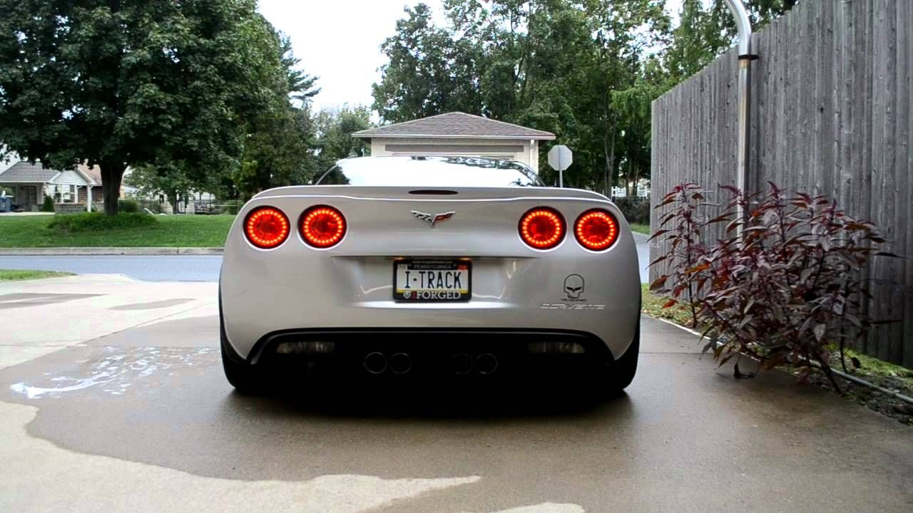 C6 / ZO6 MUFFLER MOD WITH LF GT1-1 CAM, AR HEADERS