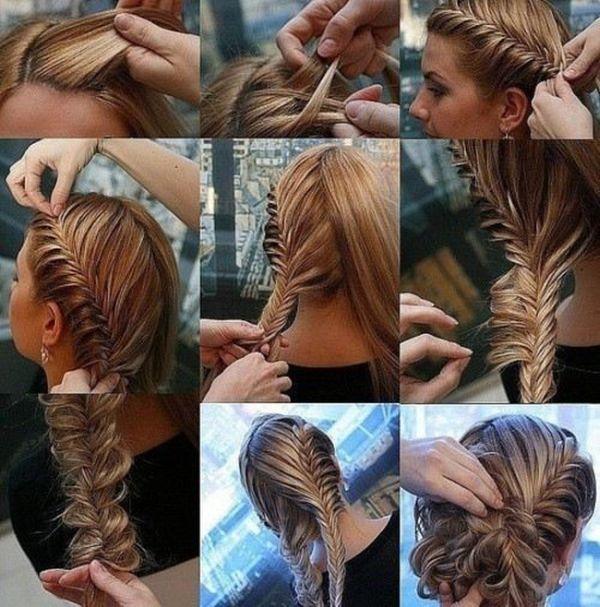 Brilliant 1000 Images About Braided Hair On Pinterest Braids Waterfall Short Hairstyles Gunalazisus