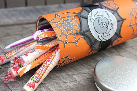 Spidery Treat Canister by Heather Nichols for Papertrey Ink (September 2012)