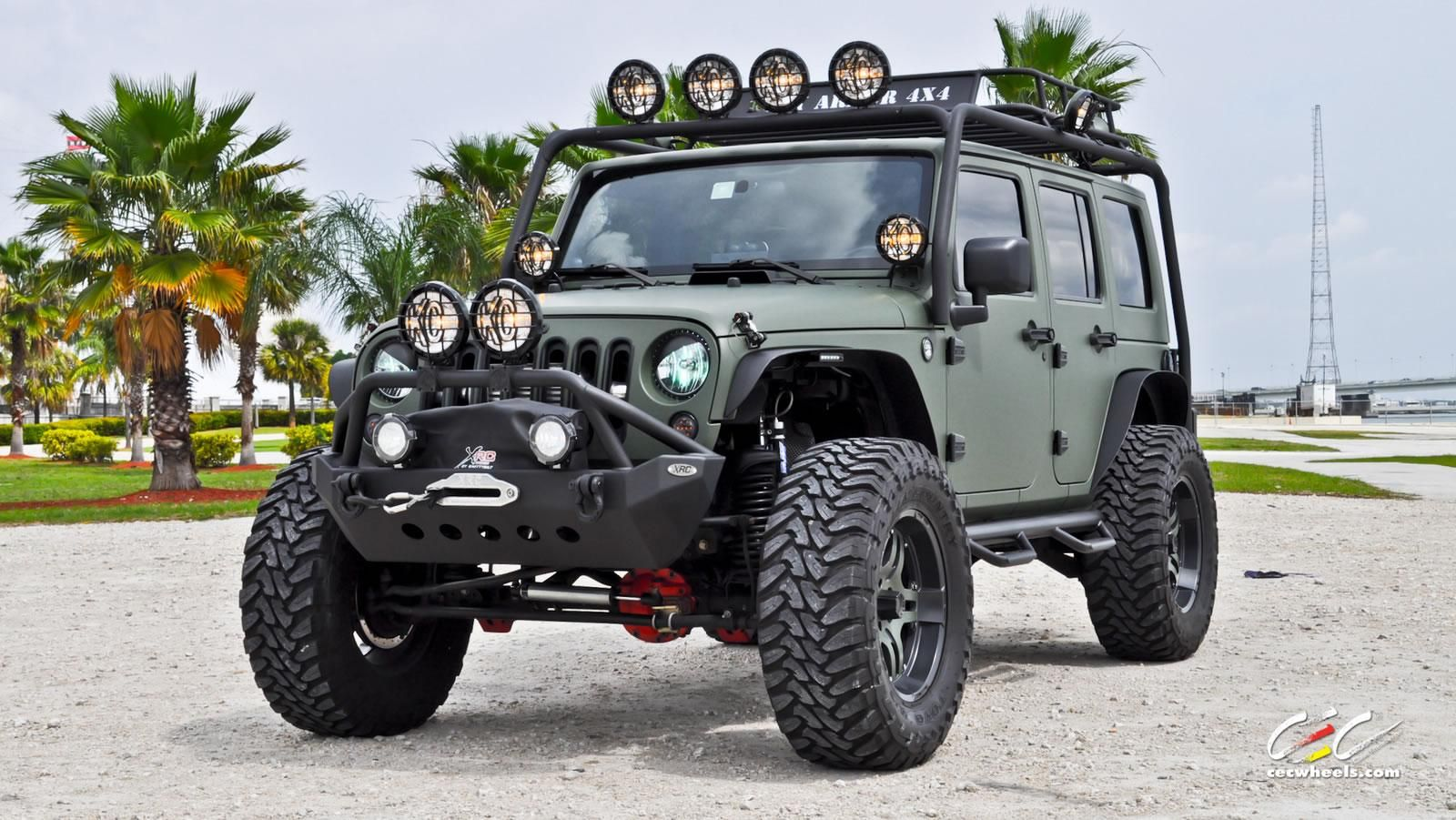I Love The Lift Kit On This One Shame That Without The Flares It Would Never Get A Roadworthy Certificate Here In Aus Green Jeep Wrangler Green Jeep Custom Jeep