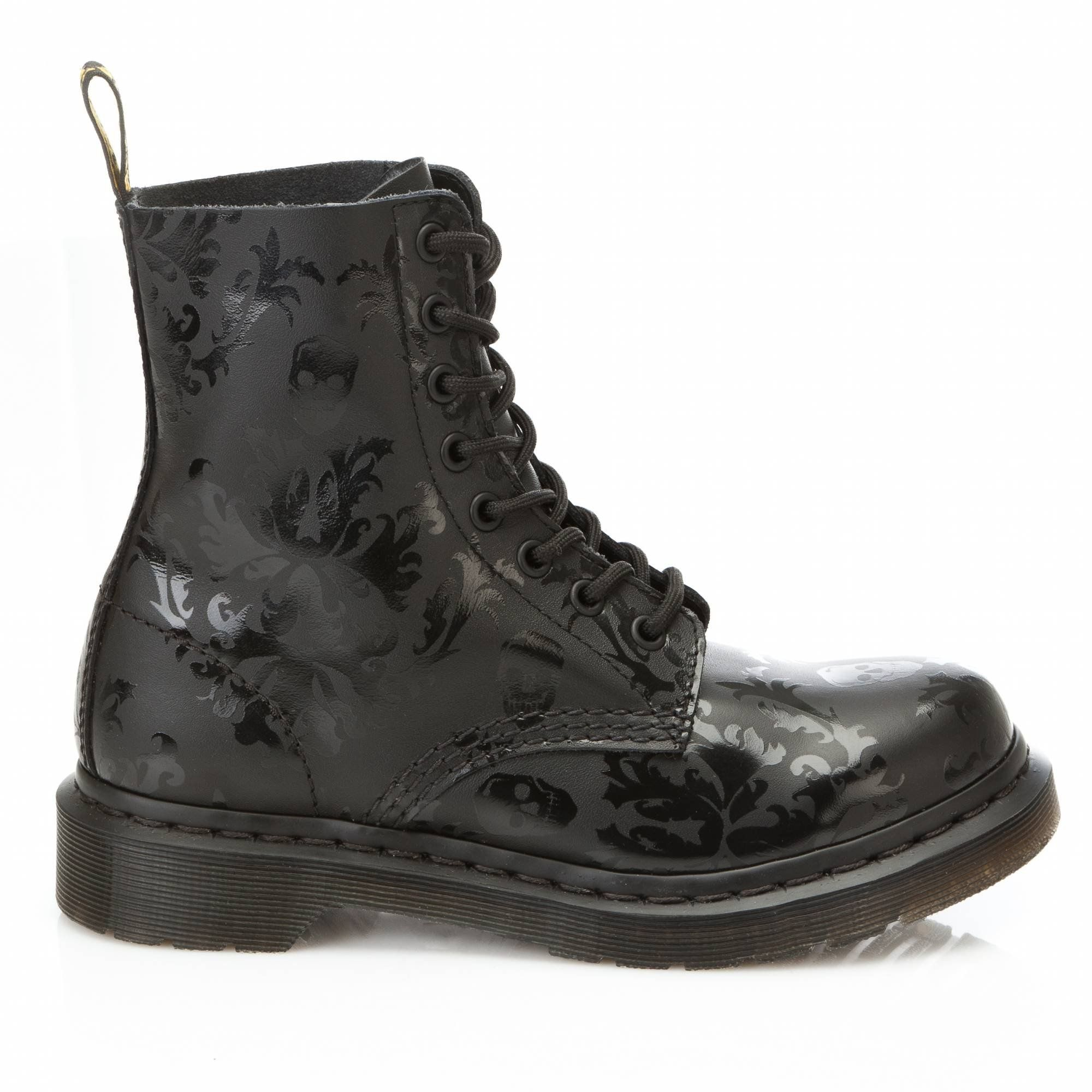 9a17f981db53b Dr. Martens Pascal Marble in Black Patent   Dr.Doc Martens   Boots, Dr.  Martens, Shoes