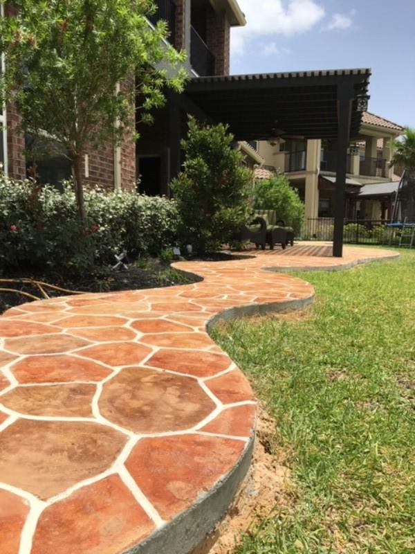 Decorative Concrete Gallery Increte Of Houston In 2020 Concrete Decor House Layouts Concrete