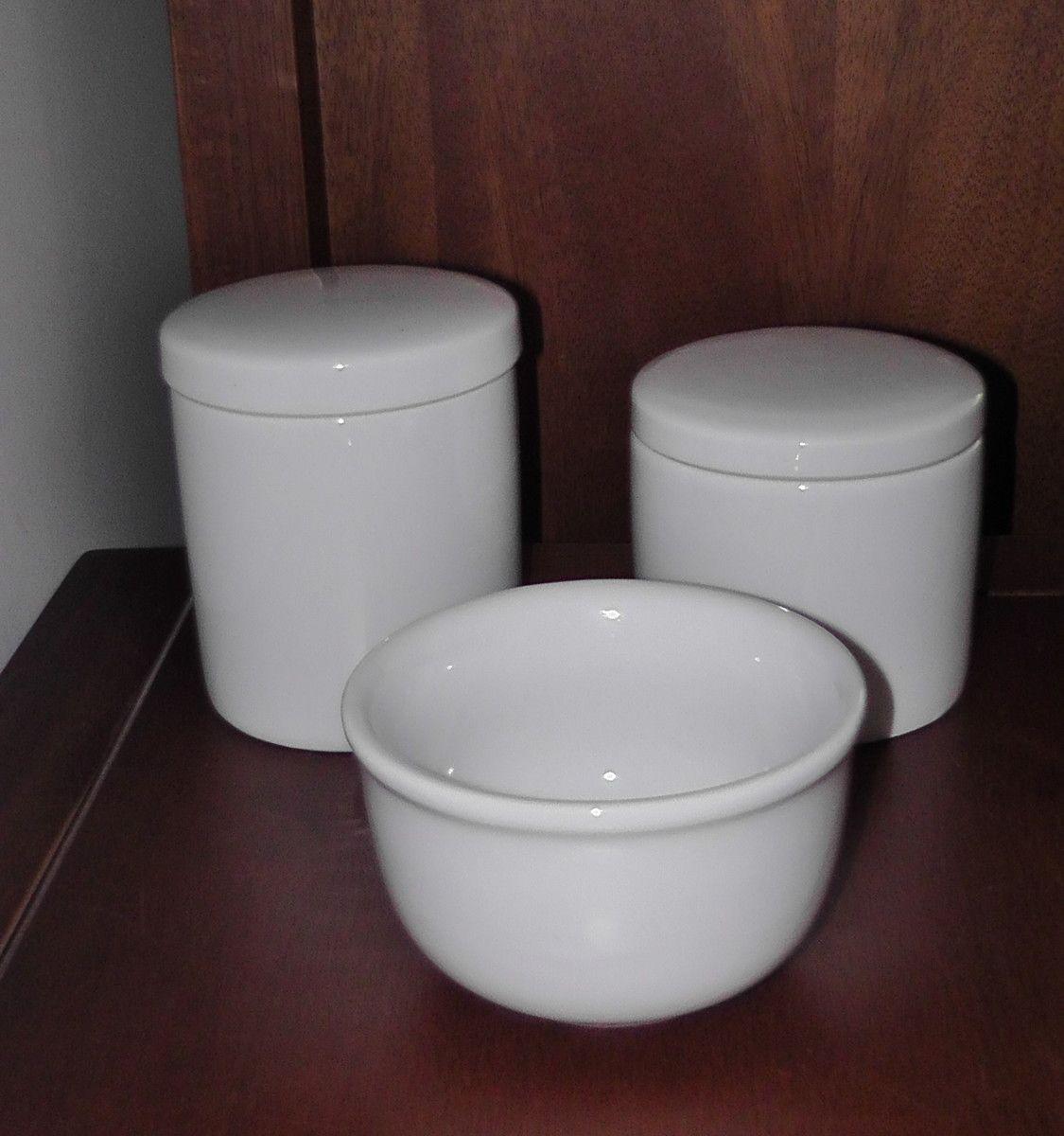 Kit Higiene Bebe em Porcelana
