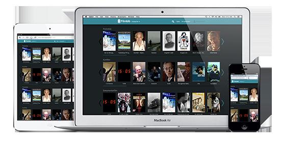 FilmBIB - kort og dokumentarfilmbibliotek. Logg på med lånekort fra ditt lokale bibliotek.