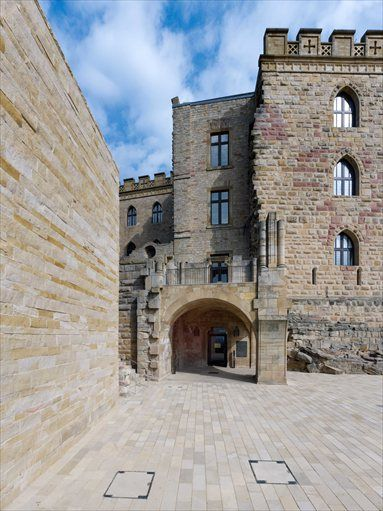 Hambach Castle - DAM Award 2012 - Neustadt an der Weinstraße, Germany - 2011 - Max Dudler Architekt #architecture #history #castle
