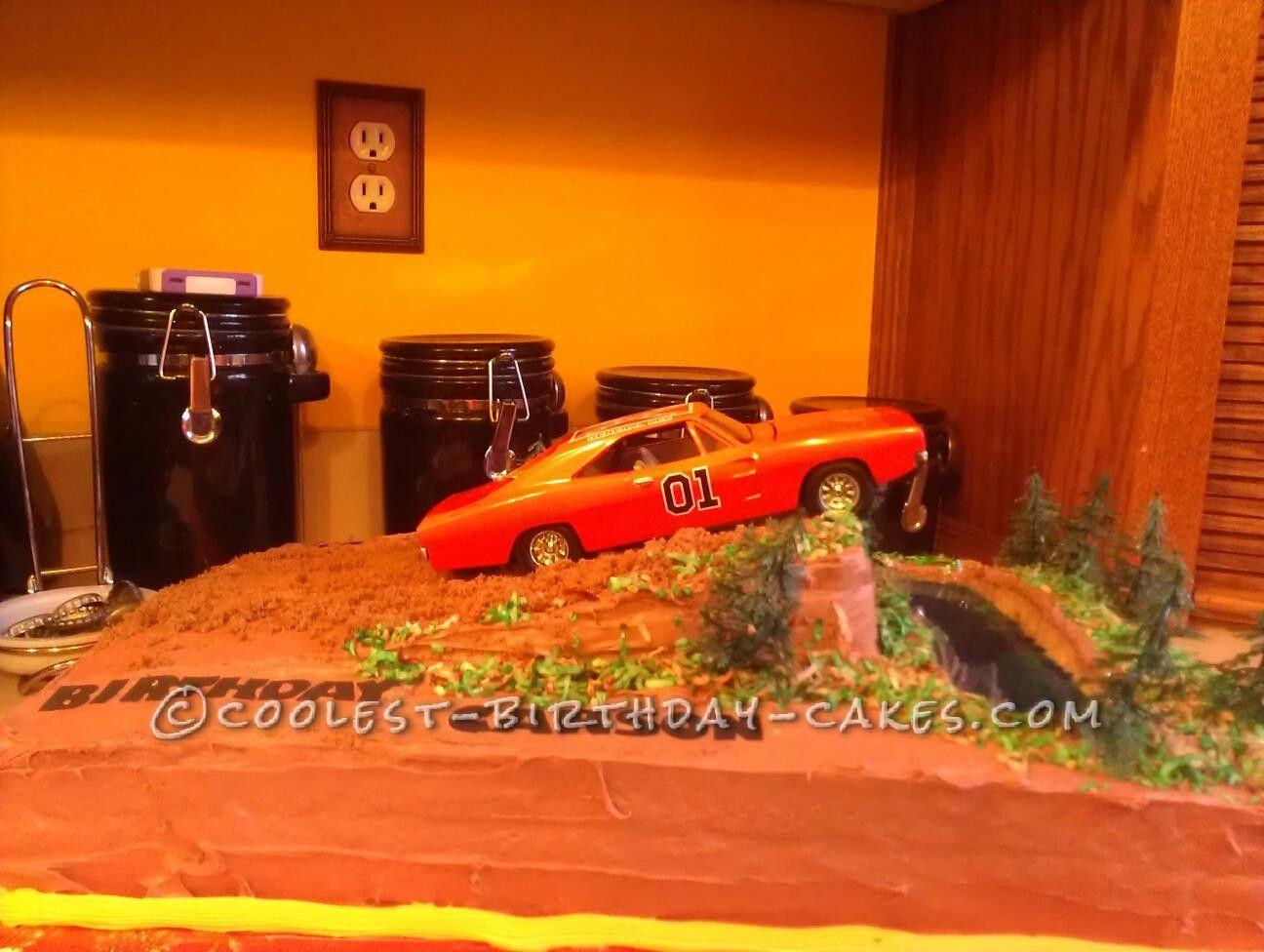 Dukes Of Hazzard Birthday Cake Coolest Birthday Cakes Pinterest