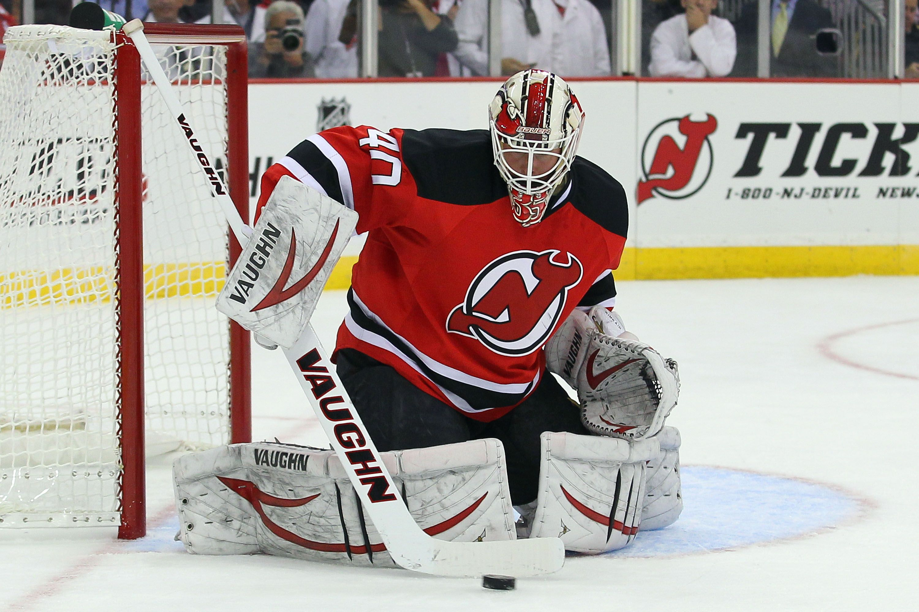 Crowdcam Hot Shot New Jersey Devils Goalie Keith Kinkaid