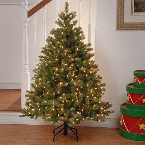 Details about National Tree 45 Ft Dunhill Fir W 450 Clear Lights