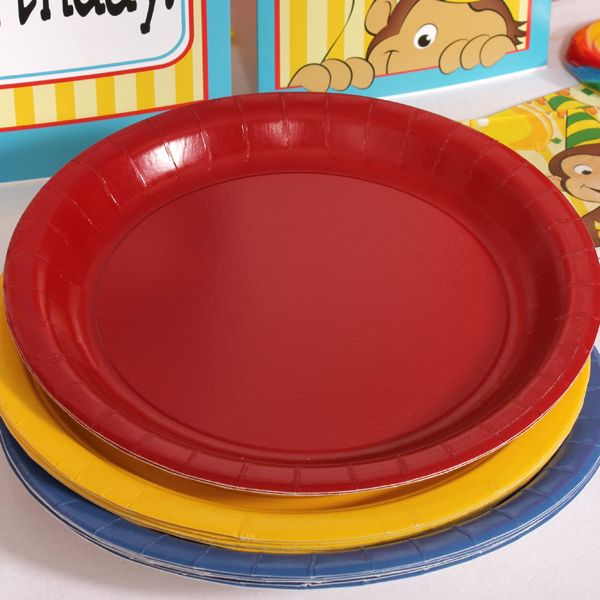 Curious George Coordinating Lunch Plate Set (24) & Curious George Coordinating Lunch Plate Set (24) | Curious George ...