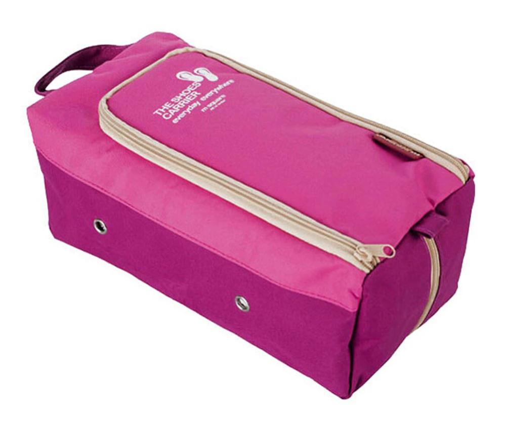 High Quality Travel Shoe Bag Shoe Dustproof Bag Waterproof Storage Bag  Trivoshop bag storage High Quality Travel Shoe Bag Shoe Dustproof Bag Waterproof Storage Bag Pink