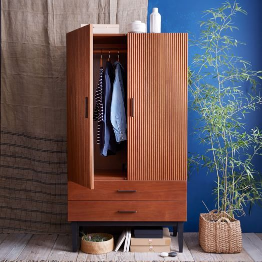 Beautiful Reede Armoire | West Elm