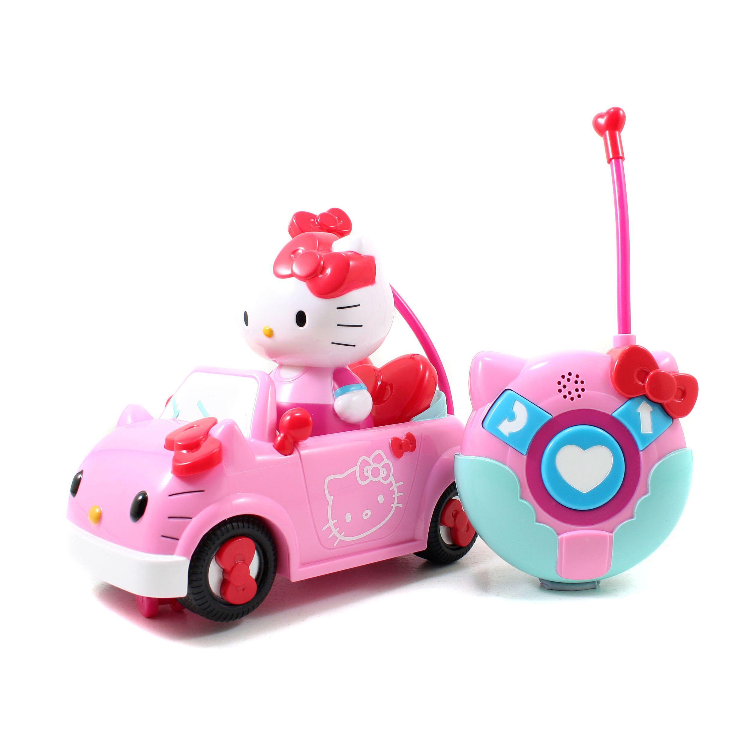 Jada car toys  Jada Toys Hello Kitty Radio Control Vehicle   Products