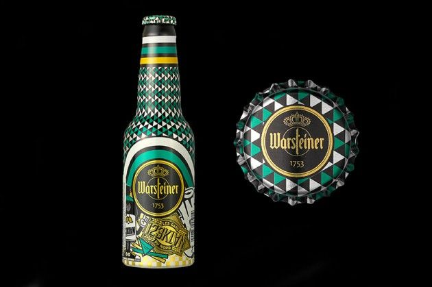 Warsteiner Art Collection Bottles | Bottle and Artist