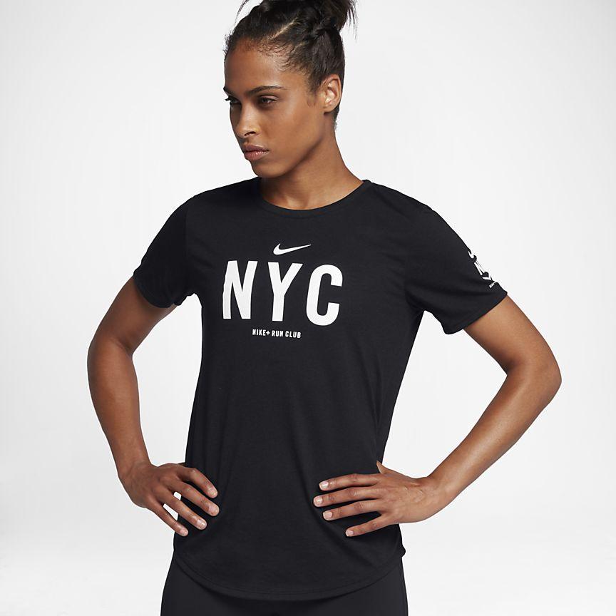 109ac84fb9f7 Nike Dri-FIT NRC (NYC) Women s Running T-Shirt