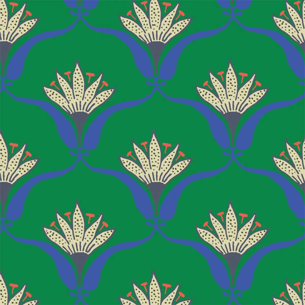 Mitchell Black Home Wallflower Jade Peel & Stick Wallpaper