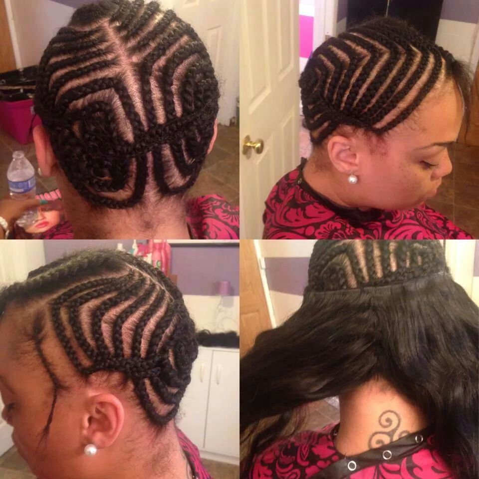 Foundation For Flat Sew In Braids With Weave Sew In Hairstyles Sew In Braids