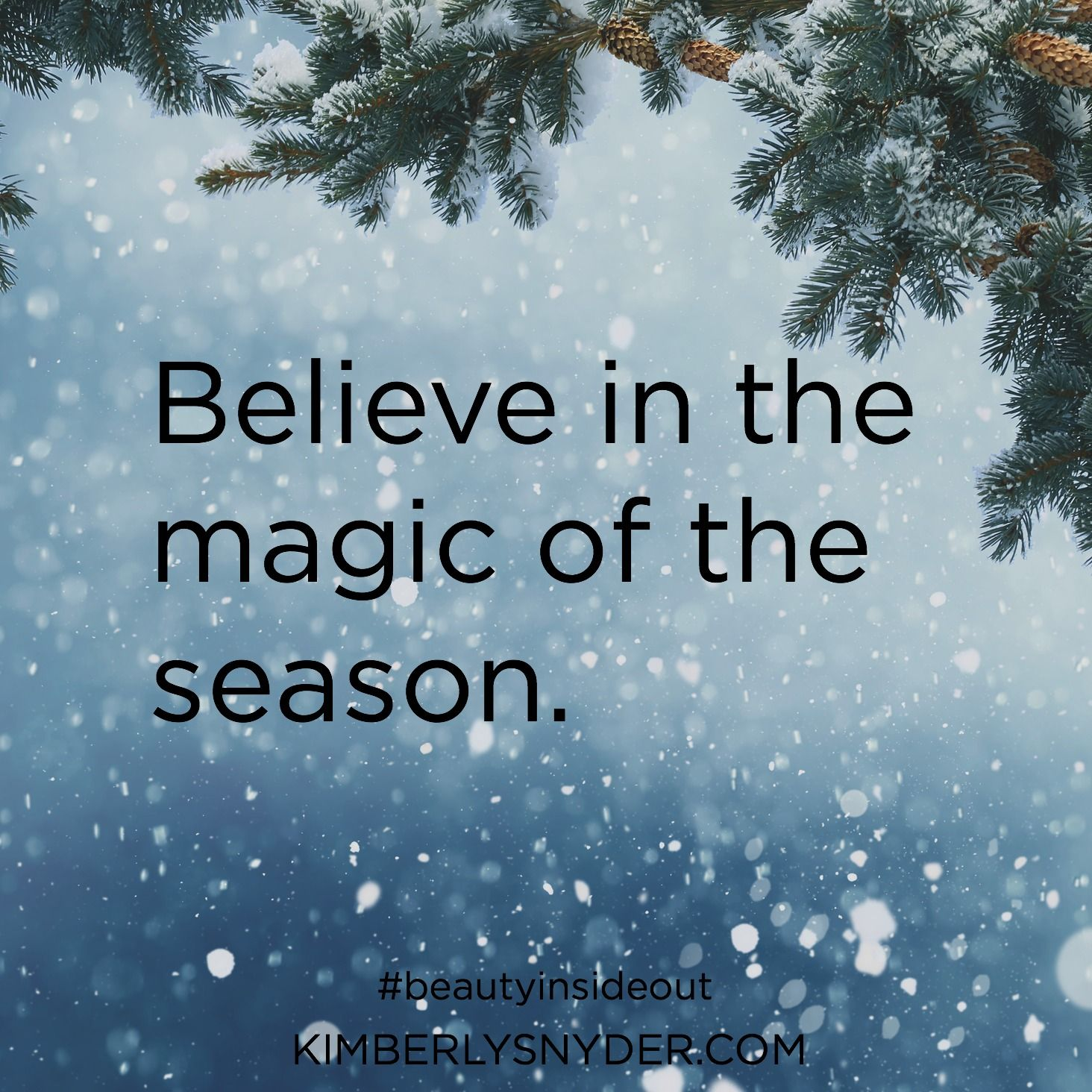Believe In The Magic Of The Season Christmas Season Quotes Season Quotes Giving Quotes